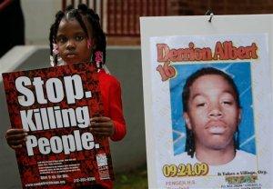 Chicago Beating Death Vigil