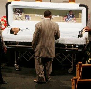 UConn Stabbing Victim Jasper Howard Lying In State