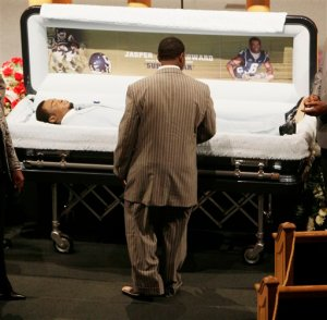 UConn Stabbing Victim Jasper Howard Lying In State