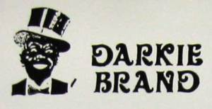 Darkie Products Blackface Coon