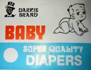 Darkie Diapers Disgrace