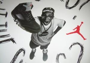 Spike Lee as Mars Blackmon...selling sneakers