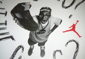 Spike Lee as Mars Blackmon...selling sneakers