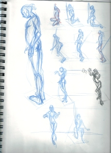 30 second Sequential series of Gestures
