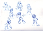 T-Rock rough poses