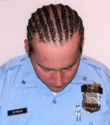 French Braids Not Allowed For White Cops