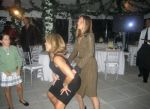 Katie Couric dancing and having fun...