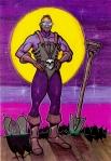 Dead Gang member's Superhero Body