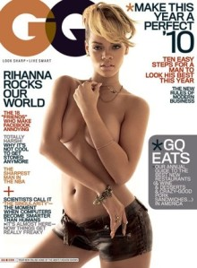 The front cover of Rihanna..