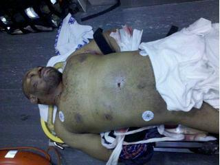 The Body of Maurice Clemmons...cop killer