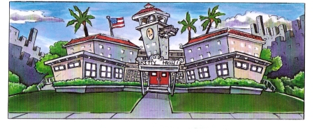 Kitty High School design by Jerry Brice
