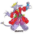 Kravitz Cat design by Jerry Brice