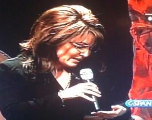 Sarah Palin Crib Not Cheating Scandal-....FAIL!!!!