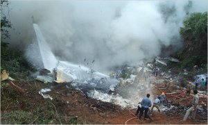 Air India Flight 160 crash...