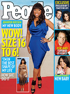 J-Hud Post Baby body revealed In People Magazine