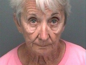 Theresa Collier Face Sapping Granny Mug Shot