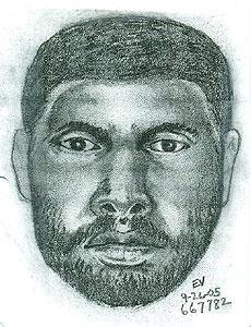 Composite Sketch of Harrington Killer