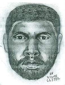 Composite Sketch of Harrington Killer