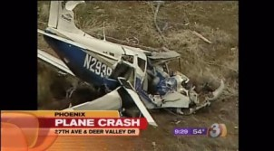 A similar small plane crash also at Deer Valley Airport in Phoenix.
