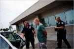 Mad Flight Attendant Steven Slater Being Arrested After He Flipped Out On UnrulyPassenger