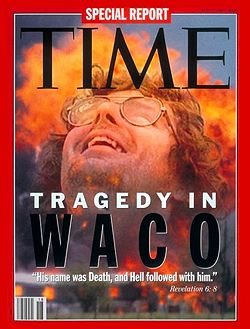Time magazine article on the Waco standoff and subsequent debacle.