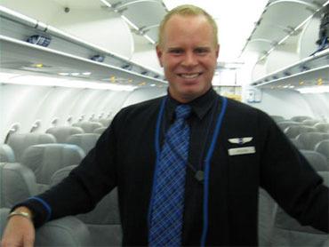 Former JetBlue flight attendant Steven Slater
