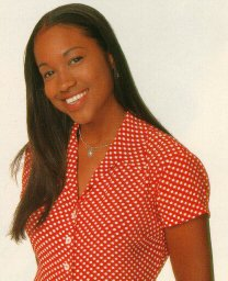 Calm and cute Maia Campbell