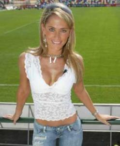 Ines Sainz in work attire...not exactly Katie Couric!!!