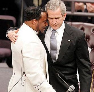 Gay Bishop Eddie Long And George Bush...