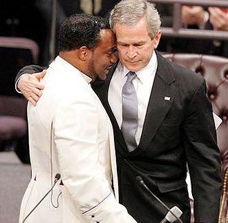 Gay Bishop Eddie Long And George Bush...