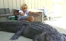 Sick gator-killing- pervert Mary Ellen Mara-Christian...