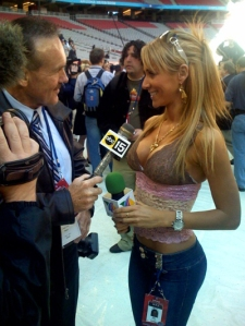 Sexy Sideline Reporter Ines Sainz