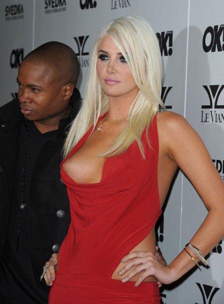 Naughty Karissa..and her boyfriend in the background...