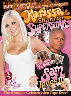 Karissa Shannon's first sex tape,featuring Sam Jones ii,bought by Vivid Entertainment