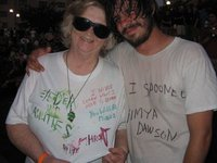 Mother Kathy Averill and her late son Mikey (Eyedea)Larsen...