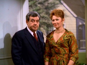 Mr. C and Mrs. C...Tom Bosley and Marion Ross on the Happy Days set.