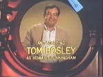 Tom Bosley portrayed Howard Cunningham in 1970's Happy Days T.V. series on ABC network.
