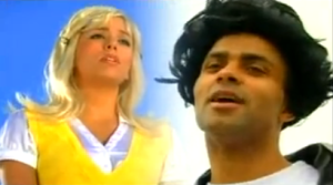 eva-longoria,tony parker-Grease-Summer Lovin spoof