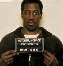 Wesley Snipes,48, surrendered today to begin 3 year federal prison term for tax evasion...