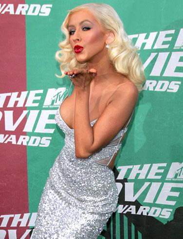 Christina Aguilera loves you...