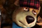 Boo Boo About to kill Yogi Bear