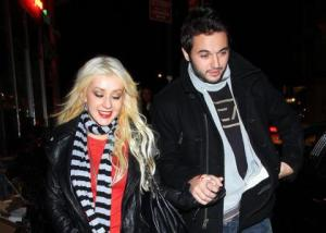 Christina Aguilera out with Matthew Rutler in NYC ...her new man for now...