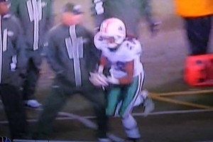 Sal Alosi knee trip assault of Dolphins player Nolan Carroll