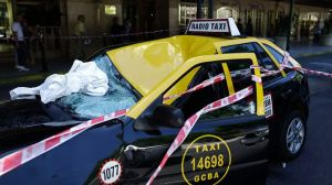 Argentina Woman's 23 floor Free-Fall Broken By Cab Parked On The Street!!!