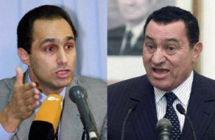 Unpopular son Gamal, and father Hosni Mubarak face an uncertain future,out of power in Egypt