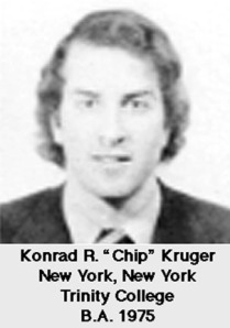 "Konrad ""Chip"" Kruger,...Eliza's rich father"