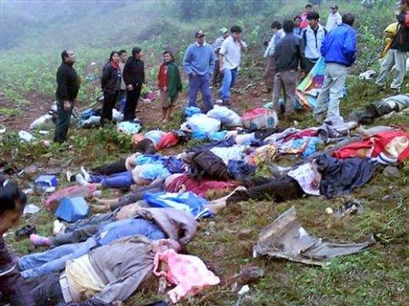 Bodies of injured bus crash victims