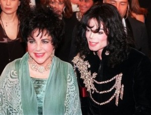 Elizabeth Taylor and Michael Jackson...together again for all eternity