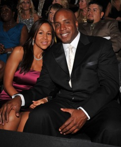 Ex-Wife Liz and Barry Bonds,2008