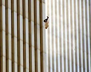 Falling man from 9/11 terror attack